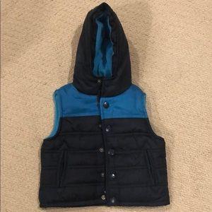 Baby Boys appaman hooded vest 3-6 months EUC
